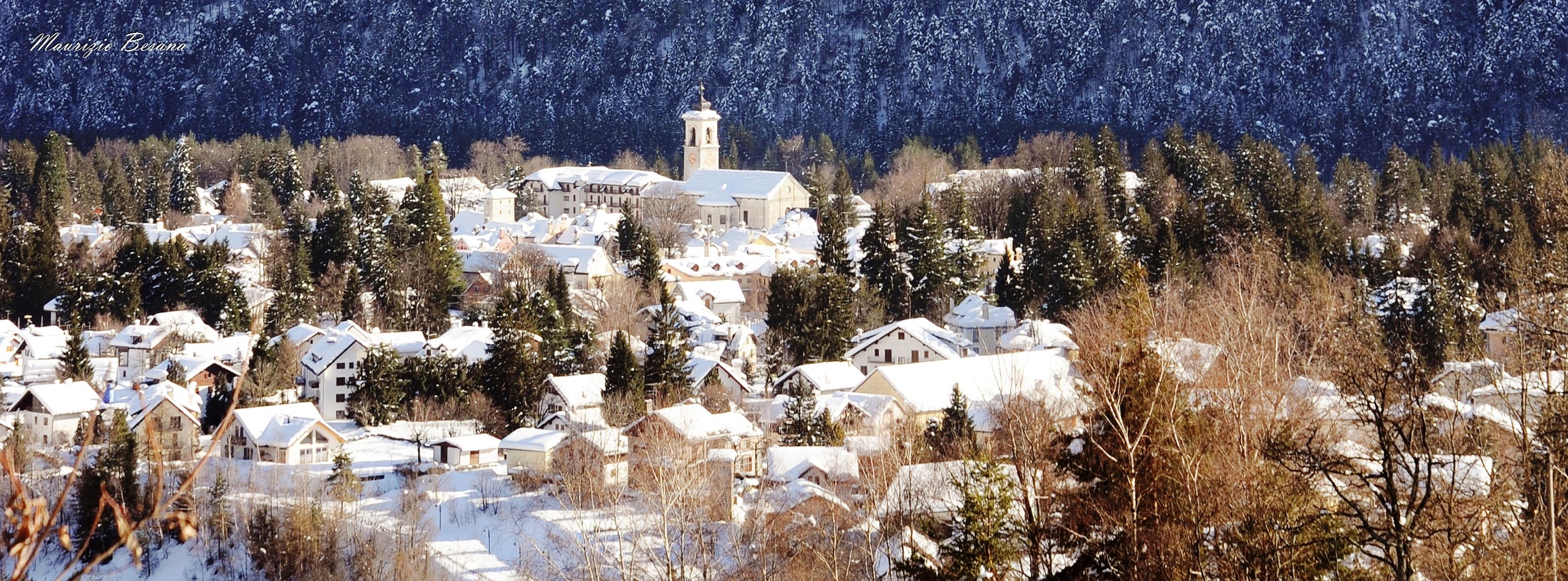 Inverno a Santa Maria Maggiore in Valle Vigezzo - ph. Maurizio Besana