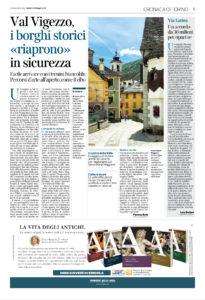 La montagna alla giusta distanza su Corriere Torino