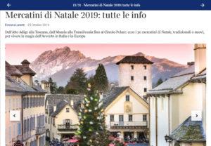 Mercartini di Natale di Santa Maria Maggiore su Dove