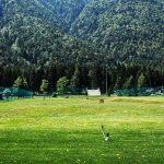 Il campo pratica del Golf Club di Santa Maria Maggiore
