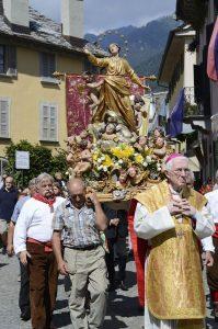 La tradizionale Processione dell'Assunta a Santa Maria Maggiore