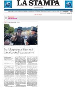 Raduno Internazionale dello Spazzacamino in nazionale su La Stampa
