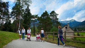 Rigeneranti passeggiate lungo la pista ciclo-pedonale