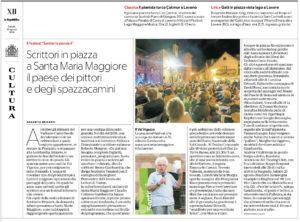 Sentieri&Pensieri su La Repubblica Milano