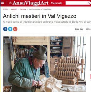 Antichi mestieri vigezzini su Ansa.it