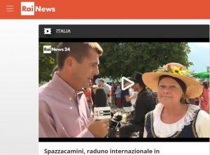 Raduno Spazzacamino su RaiNews24