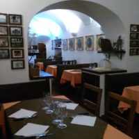 L'interno della Pizzeria Da Franco