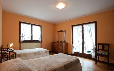 Casa vacanze Ianni - la camera dell'appartamento Valgrande