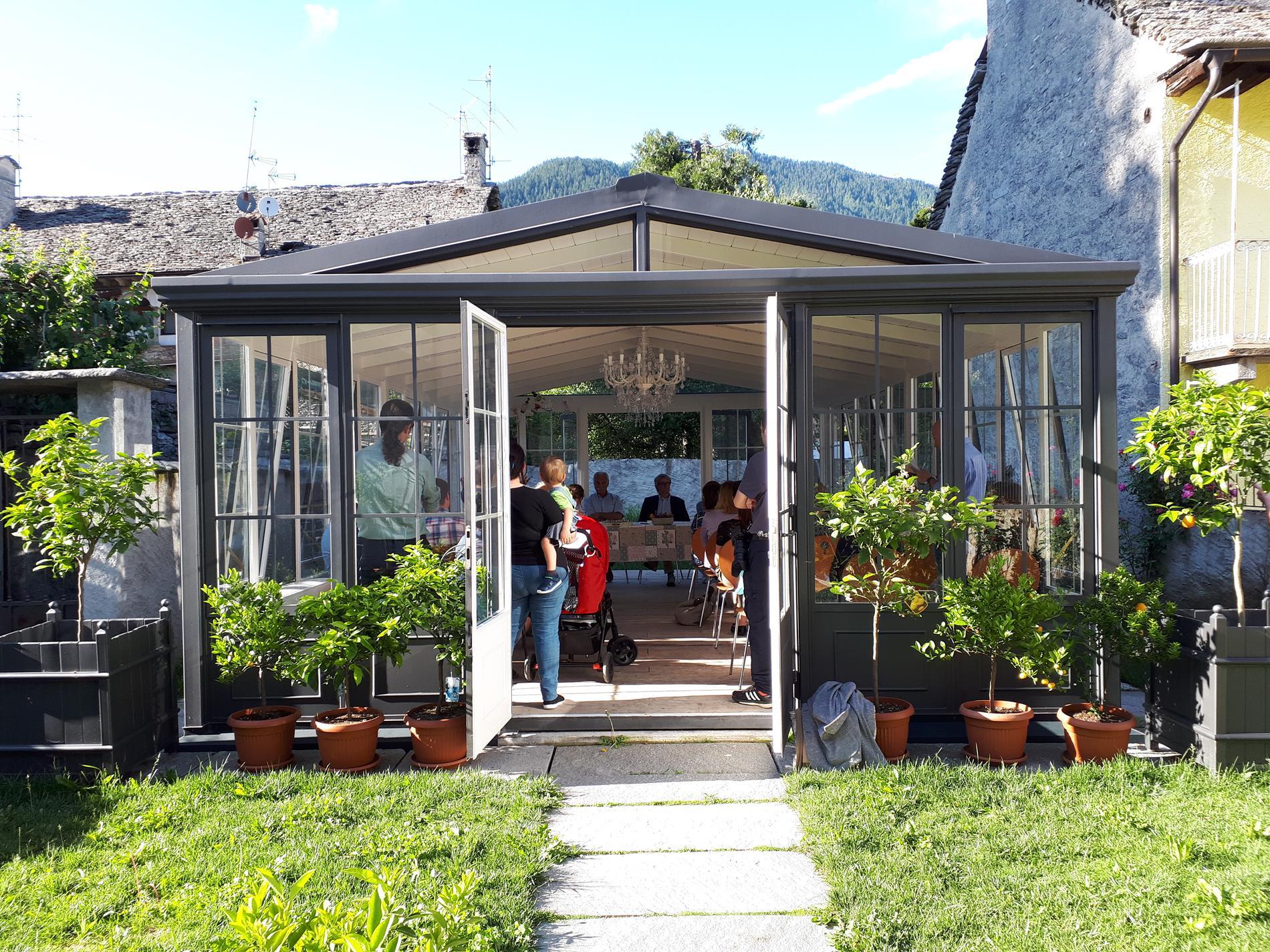 Serra Casa del Profumo - Conferenza Stampa Santa Maria Maggiore