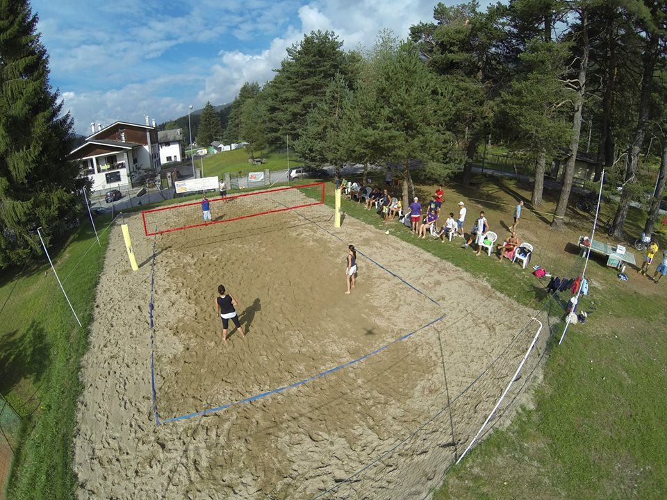 I campi da beach volley dello Jazza Sport Club