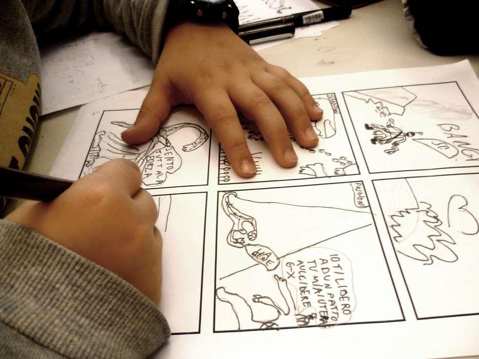 Corso di fumetto alla Scuola di Belle Arti Rossetti Valentini