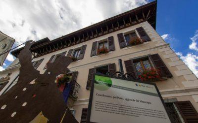 Casa Rossetti, poi Ponti, oggi sede del Municipio - ph. Marco Benedetto Cerini