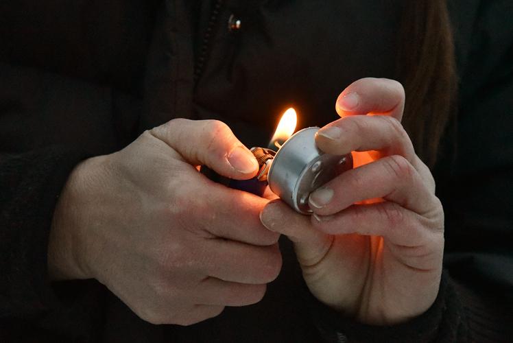 M'illumino di meno a Santa Maria Maggiore - ph. Maurizio Besana