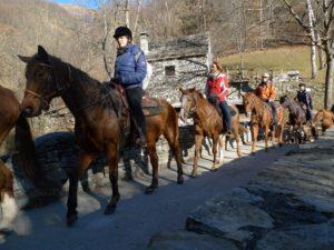 A cavallo a Santa Maria Maggiore - Valle Vigezzo