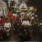 Biciclette decorate vintage a Santa Maria Maggiore