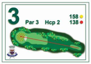 Golf Santa Maria - buca 3