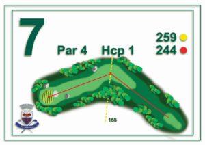 Golf Santa Maria - buca 7