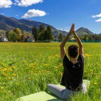 Yoga in pineta - Santa Maria Maggiore - ph. Marco Benedetto Cerini