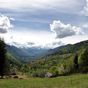 La Val Vigezzo vista dall'Alpe Blitz