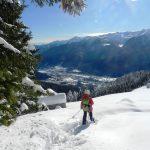 Ciaspolando con vista sulla Val Vigezzo
