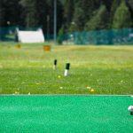 Il campo pratica del Santa Maria Golf Club