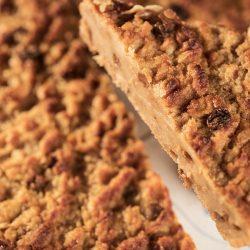 La torta di pan e lac pronta da gustare - ph. Susy Mezzanotte