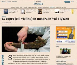 Mostra del capretto tipico vigezzino su Food24 de Il Sole 24 Ore