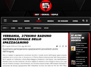 Raduno Internazionale dello Spazzacamino su RTL102.5