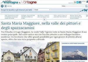 Santa Maria Maggiore su Montagna & Montagne de La Stampa