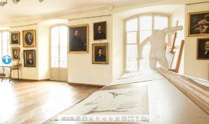 Virtual tour della Scuola di Belle Arti Rossetti Valentini