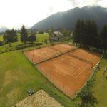 I campi da tennis dello Jazza Sport Club