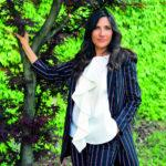 Eliana Liotta - Sentieri e Pensieri 2020 a Santa Maria Maggiore - ph. Matteo Strocchia - dress Dondup act
