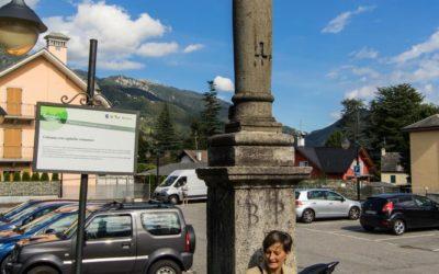 Colonna con capitello romanico - ph. Marco Benedetto Cerini