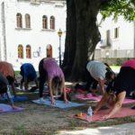 Yoga nel Parco di Villa Antonia