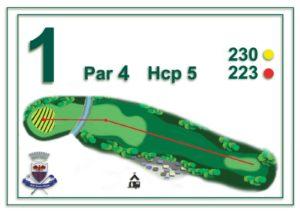 Golf Santa Maria - buca 1