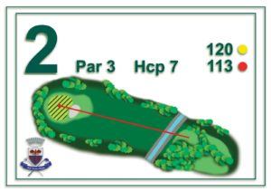 Golf Santa Maria - buca 2