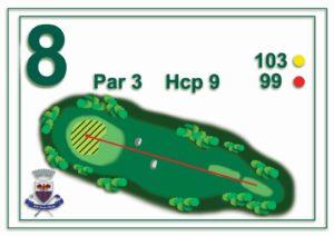 Golf Santa Maria - buca 8
