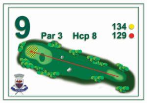 Golf Santa Maria - buca 9